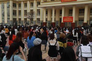 750 người được về nhà sau 14 ngày cách ly ở Trường quân sự Sơn Tây