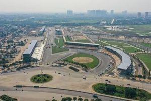 Những tuyến đường nào tại Hà Nội sẽ bị cấm trong thời gian giải F1 diễn ra?