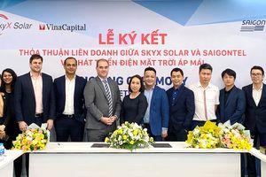 VinaCapital và SAIGONTEL xây dựng và vận hành chuỗi dự án điện mặt trời áp mái 50 MW