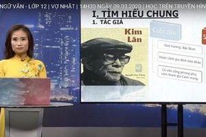 Khánh Hòa: Dạy học trên truyền hình cho học sinh lớp 9 và lớp 12