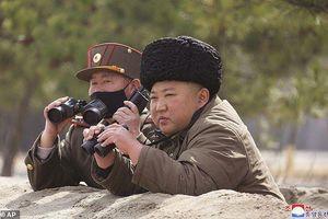 Nhà lãnh đạo Triều Tiên Kim Jong-un tham gia cuộc tập trận pháo binh