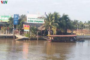 Nhiều khu du lịch ở Tiền Giang và Bến Tre đóng cửa vì vắng khách tham quan