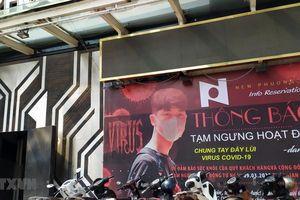Đà Nẵng ngừng một số hoạt động kinh doanh, dịch vụ nơi công cộng