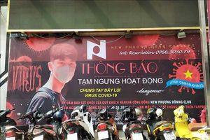 Đà Nẵng ngừng dịch vụ karaoke, vũ trường, massage