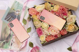 Sang chảnh cùng loạt smartphone hồng quyến rũ
