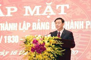 Phát huy năm truyền thống quý báu trong 90 năm lịch sử Đảng bộ Hà Nội, nâng cao hơn nữa tầm vóc Thủ đô