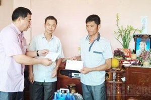 Bắc Giang: Hỗ trợ gia đình có trẻ em bị đuối nước ở Lục Nam
