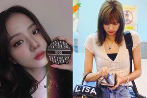 Jisoo, Suzy được các hãng nổi tiếng tặng đồ in tên mình