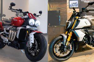 Có 900 triệu, mua Triumph Rocket 3 R hay Ducati Diavel 1260 S?
