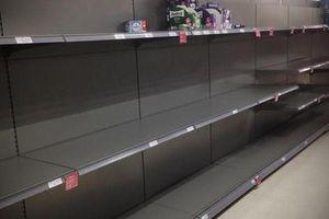 Covid-19: Bị cướp giấy vệ sinh ở Anh, khóc ròng vì 'ôm' 17.700 chai thuốc khử trùng ở Mỹ