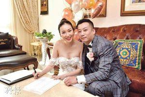 Covid-19: Diễn viên nổi tiếng TVB và bạn trai đại gia cưới online