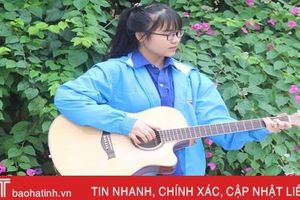 Nữ sinh Hà Tĩnh đàn hay, học giỏi ước mơ thi đậu Học viện An ninh Nhân dân