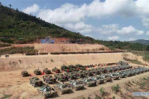 Trung Quốc và Campuchia tập trận chung