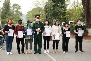 210 công dân trở về từ Hàn Quốc, Trung Quốc hoàn thành cách ly trở về gia đình