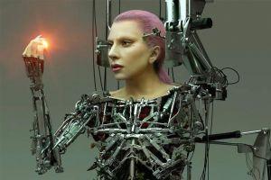 Lady Gaga chụp ảnh khỏa thân như phim khoa học viễn tưởng trên tạp chí
