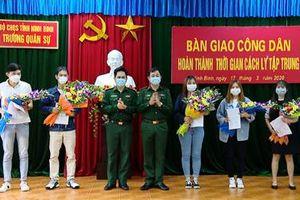 Thêm 79 công dân Việt Nam hoàn thành thời gian cách ly y tế tập trung