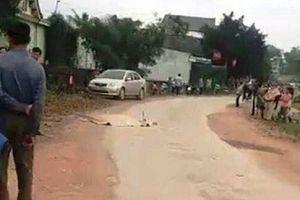 Người đàn ông ở Nghệ An bị xe chở xăng tông tử vong thương tâm