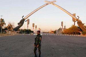 Vùng Xanh, gần Đại sứ Quán Mỹ ở Iraq tiếp tục hứng tên lửa