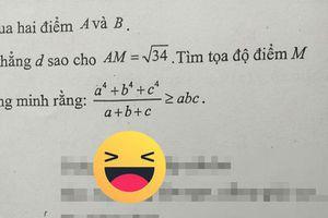 Giáo viên toán bắt trend 'trứng rán bắp bơ', học sinh 'đứng hình' vì lời nhắn dễ thương