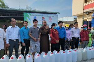 Bến Tre : CLB Hạnh Nguyện tặng nước ngọt đến vùng hạn, mặn