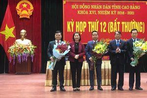 Ủy ban nhân dân tỉnh Cao Bằng có Phó Chủ tịch 40 tuổi