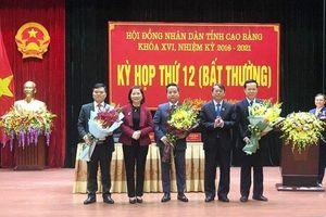Cao Bằng bầu tân Phó Chủ tịch UBND tỉnh 40 tuổi