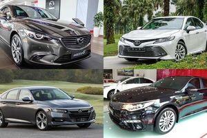 Phân khúc sedan hạng D: Toyota Camry tạo lợi thế dẫn đầu