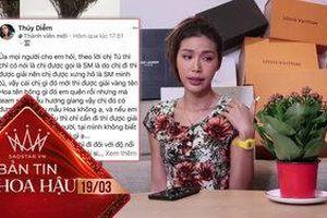 Minh Tú duyên dáng mượn 'cây sống đời' đáp trả anti-fan chê bai danh xưng 'siêu mẫu'