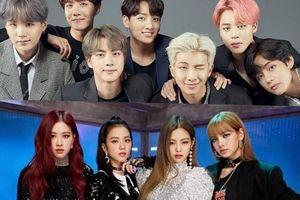 BTS, Black Pink dẫn đầu BXH nhóm nhạc phổ biến nhất trên Youtube
