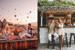 Du lịch quanh năm cùng nhau mà tiền vẫn đầy túi chính là những travel couple, nhưng đã bao giờ bạn tự hỏi họ giàu có đến mức nào chưa?