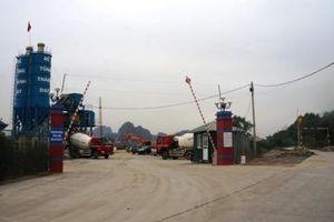 Hàng nghìn m3 cát không có nguồn gốc trong Công ty Thành Đạt Uông Bí