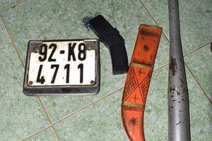 Triệt phá băng nhóm dùng dao khống chế cướp tài sản người đi đường trên quốc lộ 1A