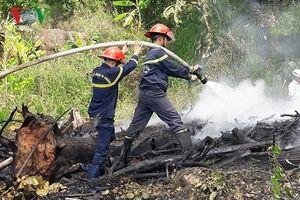 Nhiều diện tích rừng Nam bộ ở mức cảnh báo cháy cực kỳ nguy hiểm