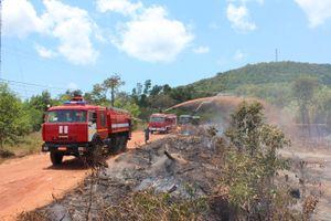 Người dân đốt nương làm rẫy gây cháy 4ha rừng