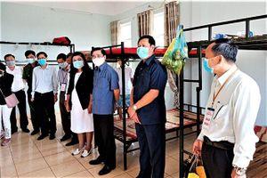 Kiểm tra công tác phòng, chống dịch Covid -19 tại Đắk Lắk