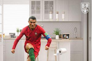 Ảnh chế: Ronaldo, Messi, Neymar, Rooney ai 'chơi' giấy vệ sinh giỏi hơn?