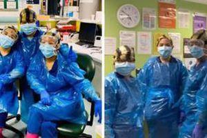 Bệnh viện London quá tải, y tá phải trùm túi rác làm đồ bảo hộ tạm thời