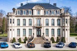 Màn hội tụ choáng ngợp của 'gia đình Bugatti Chiron' trị giá 820 tỉ