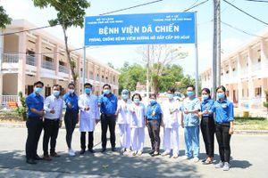 Ra mắt đội thanh niên xung kích tình nguyện tham gia phòng, chống dịch Covid-19