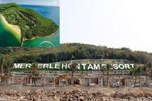 Công ty CP Hòn Tằm Biển Nha Trang buộc phải tháo dỡ công trình xây dựng không phép