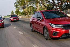 Honda City 2020 ra mắt với nhiều cải tiến, 'quyết đấu' Toyota Vios, Hyundai Accent, Kia Soluto