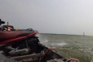 Bến đò ngang Vĩnh Tu-Cồn Tộc ẩn chứa nhiều nguy cơ tai nạn đường thủy