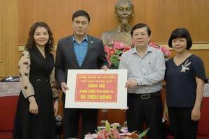 Công đoàn Bộ Văn hóa, Thể thao và Du lịch trao tiền ủng hộ, chung tay phòng chống dịch Covid-19