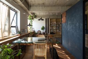 Căn hộ thiết kế như quán cà phê tại Hà Nội