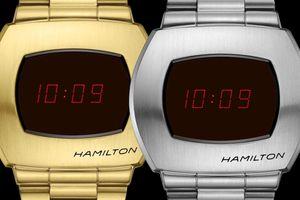 Chiếc đồng hồ điện tử từ 1972 được làm lại, sử dụng OLED