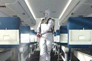 Cách phun khử khuẩn trên máy bay như thế nào?