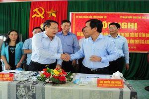 Bàn giao 2 thôn ở huyện miền núi Thừa Thiên Huế cho Quảng Trị