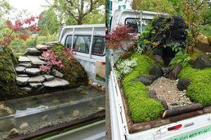 Độc đáo những khu vườn di động trên xe tải ở Nhật Bản