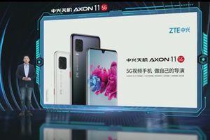 ZTE Axon 11 5G chính thức trình làng với Snapdragon 765G và màn hình cong hyperbol