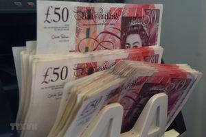 Đồng bảng Anh tăng hơn 1,5% so với đồng USD, vững giá so với đồng euro